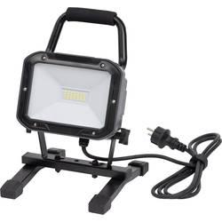 Brennenstuhl Byggeplads-belysning Mobile SMD LED-armatur ML DN 2806 S IP54 2m H05RN-F 3G1,0 20W 1720lm EEK A 1173820 Sort
