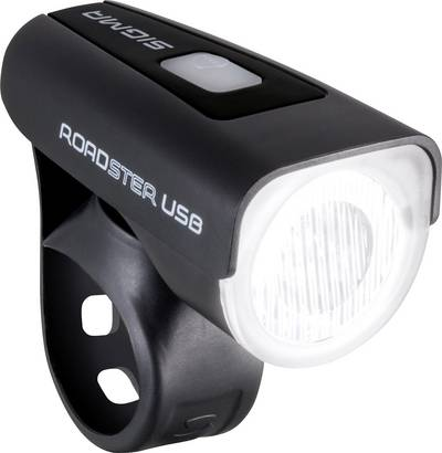 Sigma Bike headlight Roadster USB LED rechargeable Black
