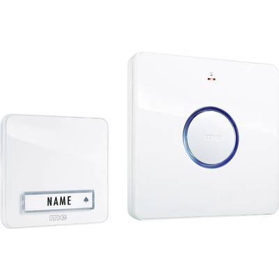 Image of m-e modern-electronics 41095 Wireless door bell Complete set