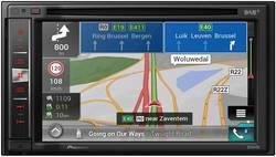 Pioneer AVIC-F980DAB Navigationsenhed, fastmontering Europa DAB+ tuner, Integreret navigationssystem, AppRadio, Håndfrit Bluetoo