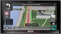 Pioneer AVIC-F80DAB Navigationsenhed, fastmontering Europa AppRadio, Integreret navigationssystem, DAB+ tuner