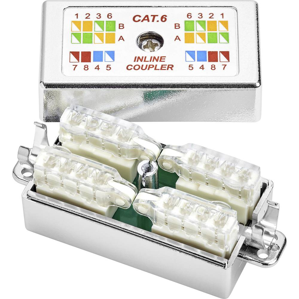 Connection Box pogodan za: CAT 6 Renkforce bez uporabe alata