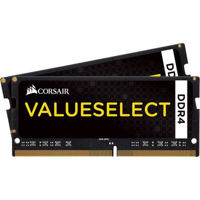 Corsair Laptop RAM kit ValueSelect CMSO16GX4M2A2133C15 16 GB 2 x 8 GB DDR4 RAM 2133 MHz CL15-15-15-36