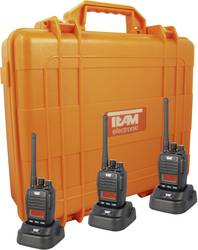 PMR-handradio Team Electronic TeCom IPZ5 Set 3 st