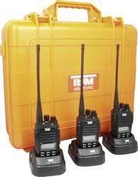 PMR-handradio Team Electronic TeCom IPX5 Set 3 st