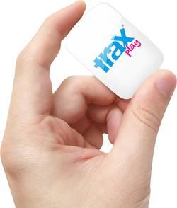 GPS Tracker Trax Play Kæledyrstracker, Persontracker Hvid, Blå