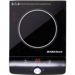 Induktionsplade Timerfunktion Basetech 280 mm