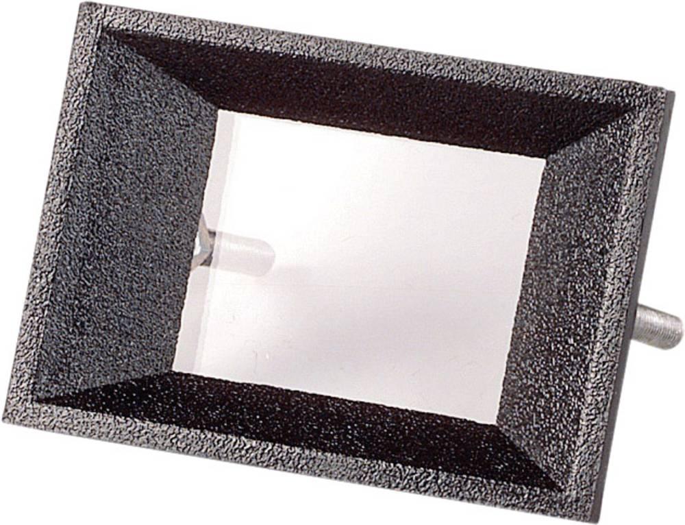 Prednji okvir, crni, pogodan za: LCD zaslon, 2-stellig ABS Strapubox AR 2