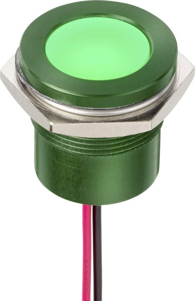 LED-signallampe APEM Q22F5ARXXSR110E 110 V/AC 5 mA Rød