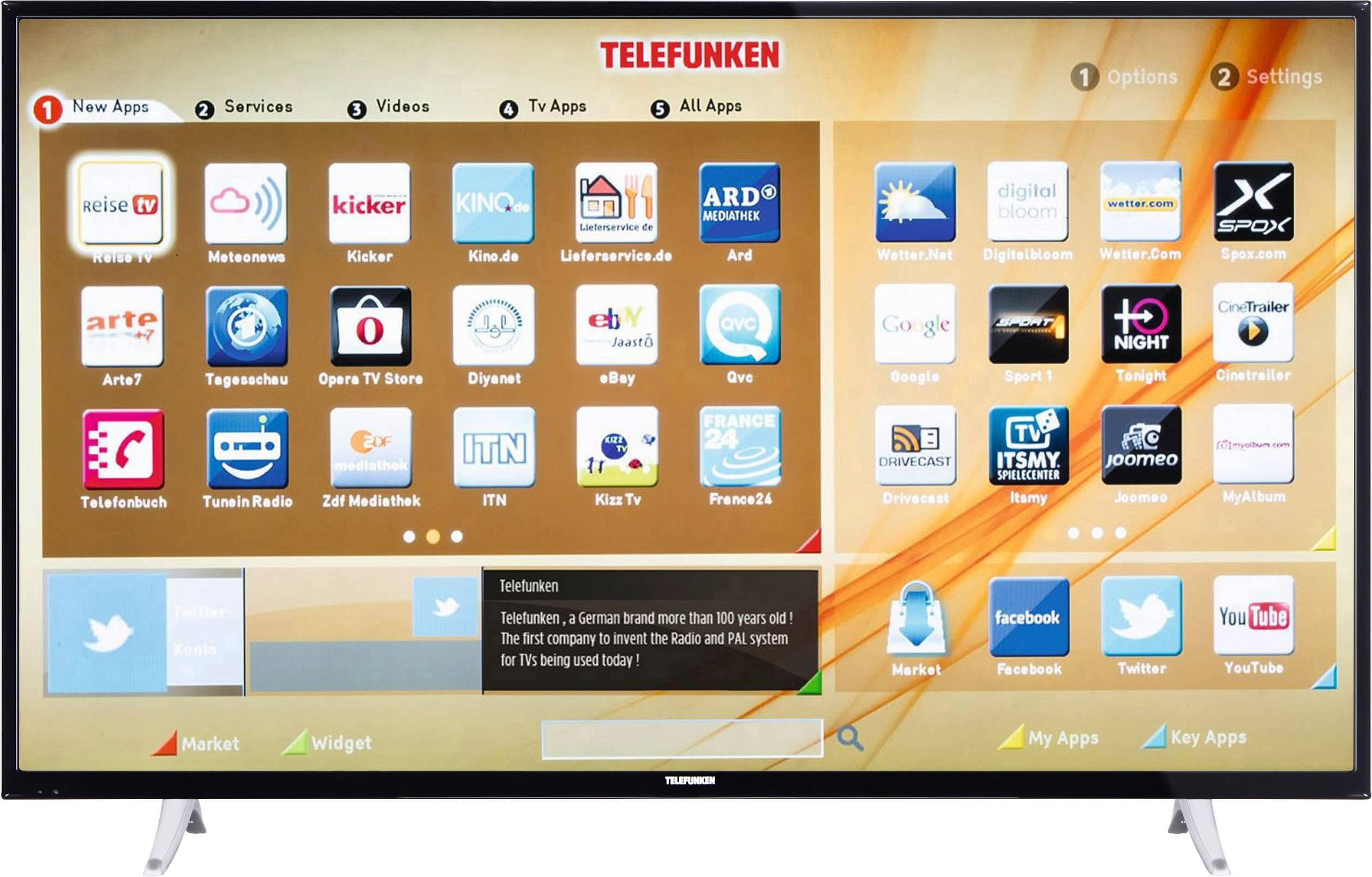 telefunken fernseher app