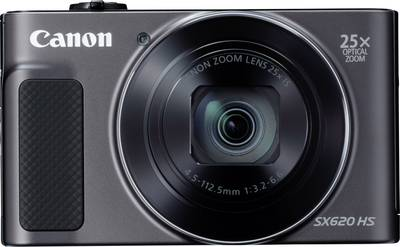 Image of Canon PowerShot SX620HS Digital camera 20 MPix Optical zoom: 25 x Black Full HD Video, Wi-Fi