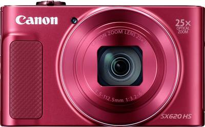 Image of Canon PowerShot SX620HS Digital camera 20 MPix Optical zoom: 25 x Red Full HD Video, Wi-Fi
