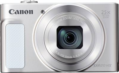 Image of Canon PowerShot SX620HS Digital camera 20 MPix Optical zoom: 25 x White Full HD Video, Wi-Fi