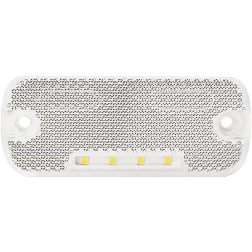 LED Omrids-markeringslygte SecoRüt foran Hvid