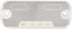 LED sprednja odsevna markirna luč z odprtimi kabelskimi konci 12 V, 24 V bele barve SecoRüt
