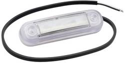 LED sprednja odsevna markirna luč z odprtimi kabelskimi konci 12 V, 24 V bele barve SecoRüt prozorne barve