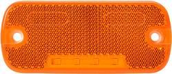 LED stranska odsevna markirna luč z odprtimi kabelskimi konci 12 V, 24 V oranžne barve SecoRüt