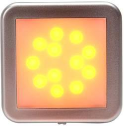 LED stranska odsevna markirna luč z odprtimi kabelskimi konci 12 V, 24 V oranžne barve, srebrne barve SecoRüt