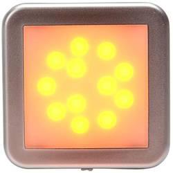 LED Omrids-markeringslygte SecoRüt i siden Orange, Sølv