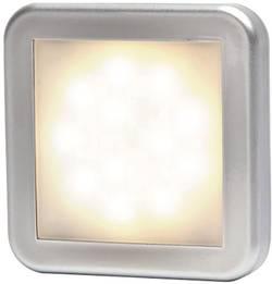 LED sprednja odsevna markirna luč z odprtimi kabelskimi konci 12 V, 24 V bele barve, srebrne barve SecoRüt