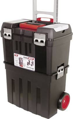 Tayg Outdoor kuffert TG58 Trail-Box (B x H x T) 476 x 640 x 296 mm Sort 158001