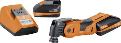 Image of Fein SuperCut AFSC 18 QCSL 71292762000 Cordless multifunction tool incl. spare battery, incl. case 18 V 2.5 Ah