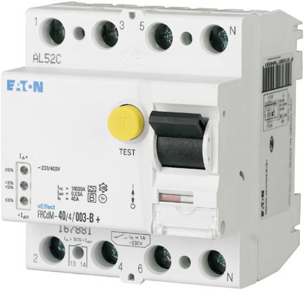 FI-sikkerhedsafbryder allstrømssensitiv 4-polet 63 A 0.3 A 240 V, 415 V Eaton 167898