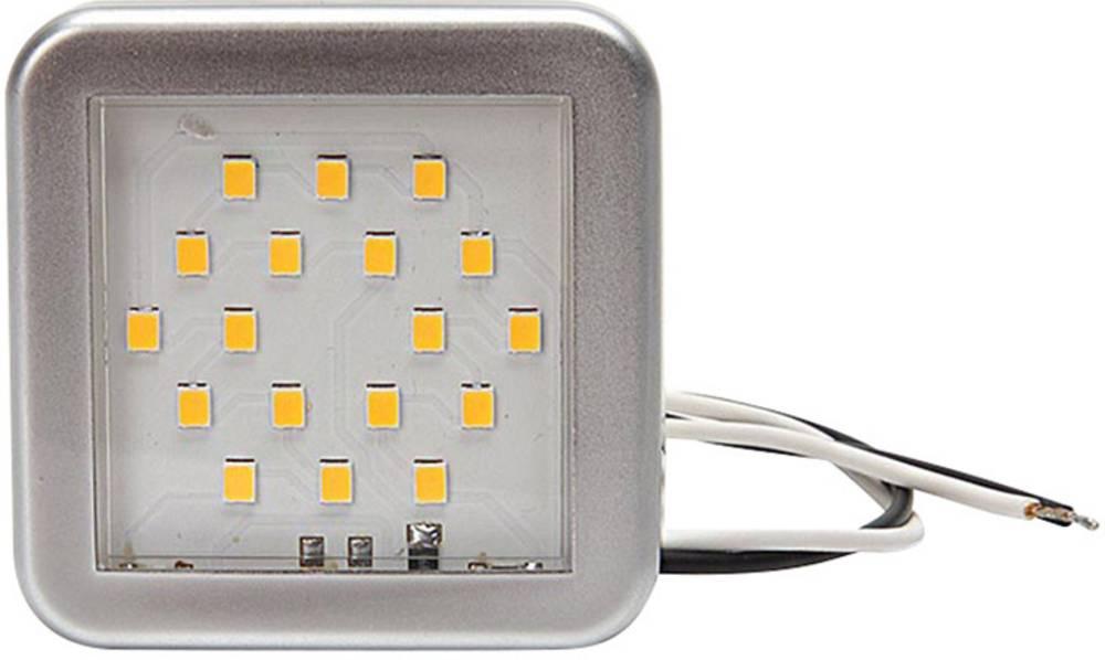 LED-kabinelys LED (B x H x T) 55 x 55 x 7 mm SecoRüt
