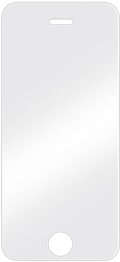 Image of Hama 173753 Glass screen Compatible with (mobile phones): Apple iPhone 5, Apple iPhone 5S, Apple iPhone 5C, Apple iPhone