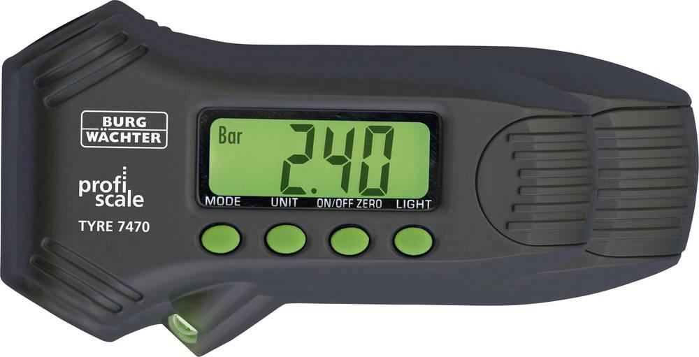 Burg Wächter Merilec tlaka v gumah Tyre PS 7470 izvedba (splošna) zračni tlak · merilec profila, primeren za avtomobilski