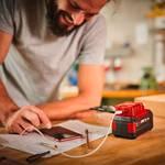 USB battery adapter