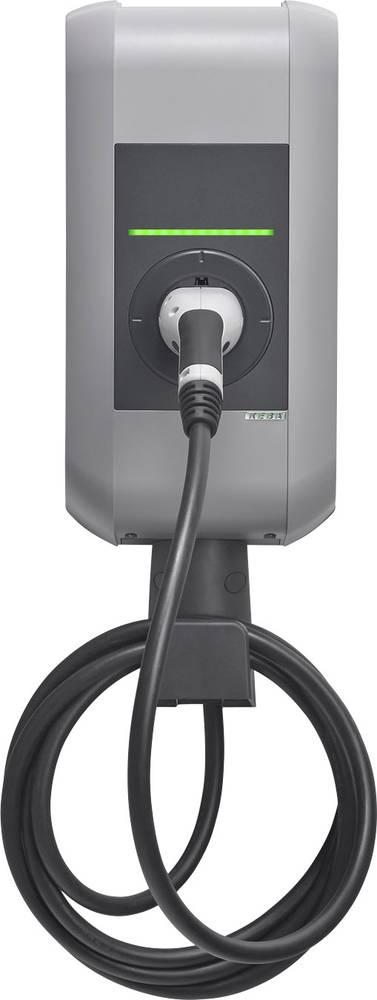 eMobility ladestation KEBA KeContact P30 Type 2 Mode 3 32 A 22 kW Nøglekontakt