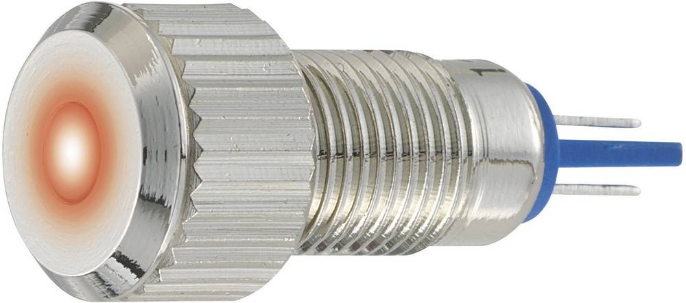 LED signalno svjetlo, plave boje 24 V/DC 24 V/AC TRU Components GQ8F-D/B/24V/N