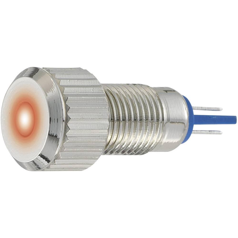 LED signalna lučka, bele barve, 24 V/DC 24 V/AC TRU Components GQ8F-D/W/24V/N
