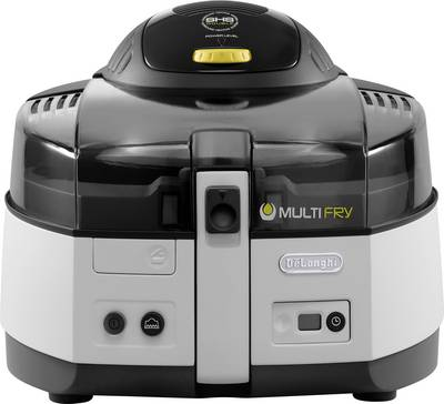 Image of DeLonghi FH1163/1 Airfryer 1600 W Black, White
