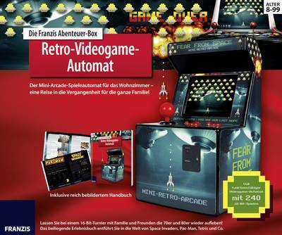 Image of Retro video game Franzis Verlag Retro-Videogame-Automat 978-3-645-65349-7