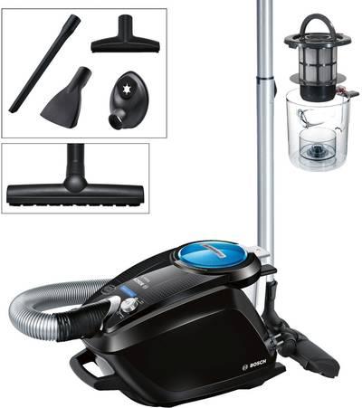 Bosch Haushalt BGS5SMRT66 Relaxx'x ProSilence66 Bagless vacuum cleaner EEC: A (A - G) 700 W Black, Blue