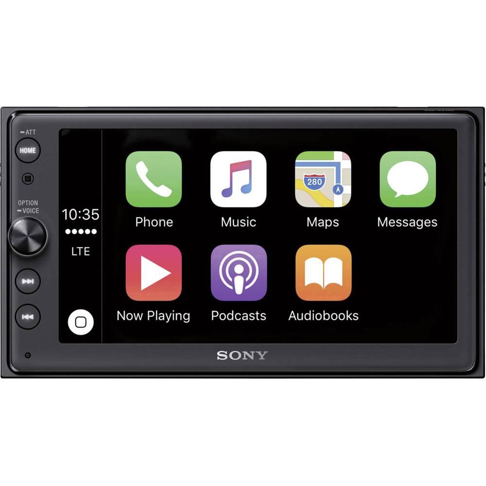 Moniceiver Sony XAV-AX100 AppRadio, Tilslutning til bagkamera, Håndfrit Bluetooth®-system