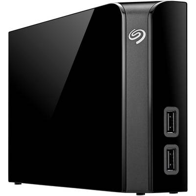 "3.5"" external hard drive 10 TB Seagate Backup PlusHub Black"