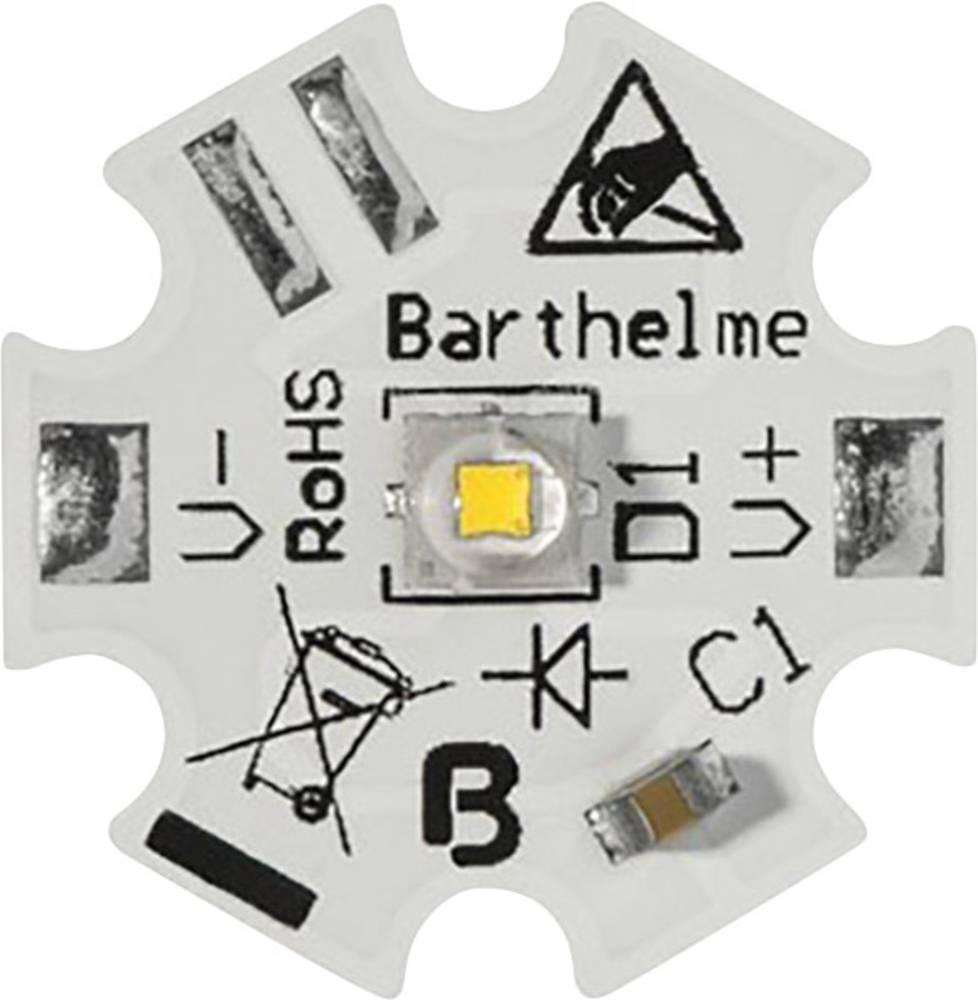 HighPower LED hladno bela 6 W 560 lm 130 ° 1800 mA Barthelme 61003534