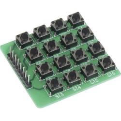 Raspberry Pi® Extension Board Joy-it tlačítková matice (16 tlačítek) Grön