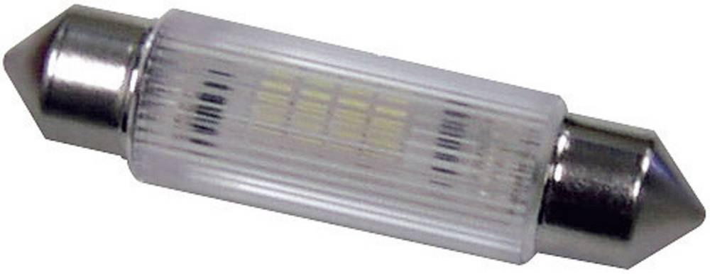 LED sofitna žarnica S8.5 rumena 12 V/DC, 12 V/AC 220 mcd Signal Construct MSOG114312