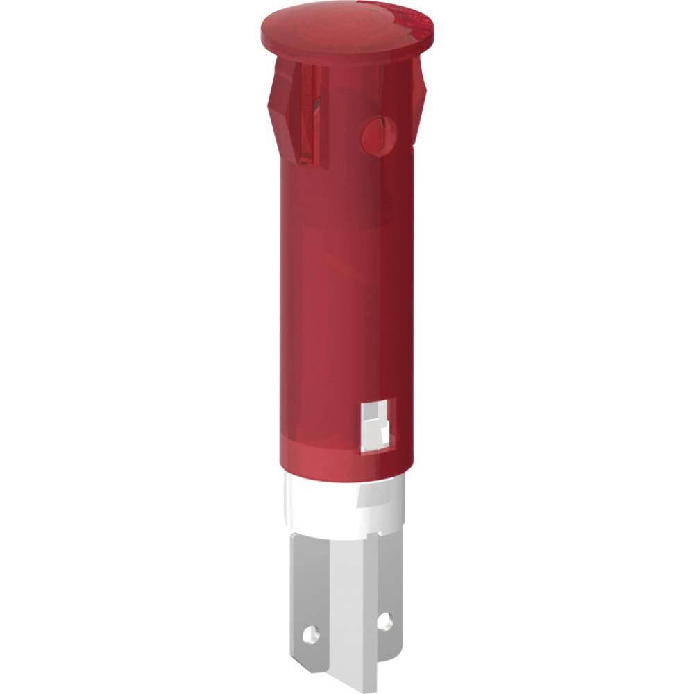 LED-signallampe Signal Construct SKID05604 Pil 24 V/DC, 24 V/AC 20 mA Hvid