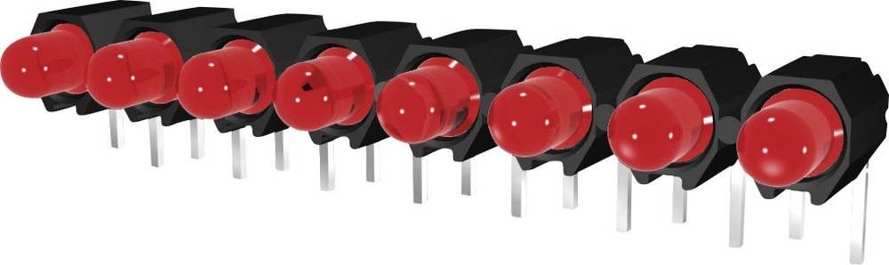 LED bånd Signal Construct DUHS35820 (L x B x H) 40 x 4.8 x 9.1 mm 8x Rød