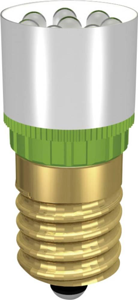LED žarnica E14 ultra zelena 12 V/DC, 12 V/AC 37000 mcd Signal Construct MCRE148372