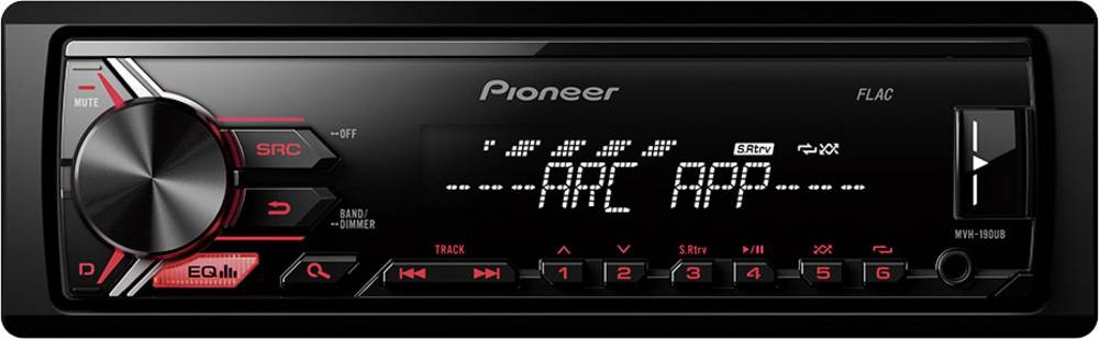Avto radio Pioneer MVH-190UB