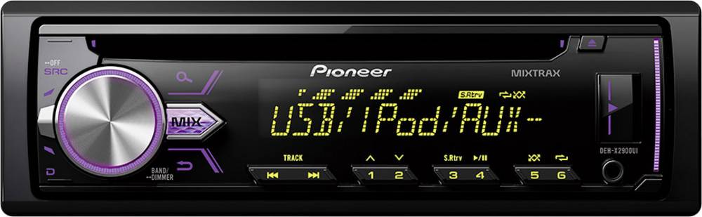 Avto radio Pioneer DEH-X2900UI