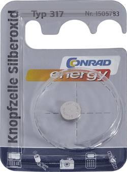 Knappcell 317 Silveroxid Conrad energy SR62 10.5 mAh 1.55 V 1 st
