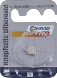 Knappcell 321 Silveroxid Conrad energy SR65 14.5 mAh 1.55 V 1 st
