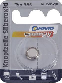 Knappcell 386 Silveroxid Conrad energy SR43 130 mAh 1.55 V 1 st